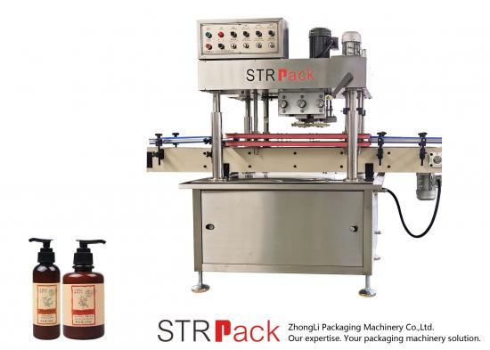 Automatic 4 Wheels Capping Machine