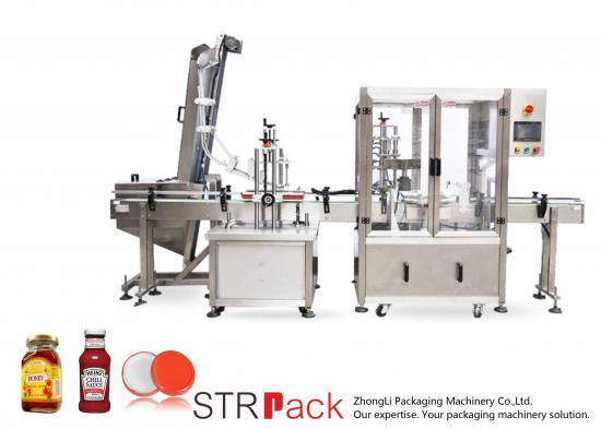 Automatic Twist-off Vacuum Capping Machine