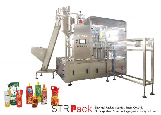Doypack Bags Packing Machine